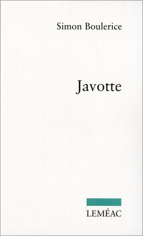 Javotte - Simon Boulerice