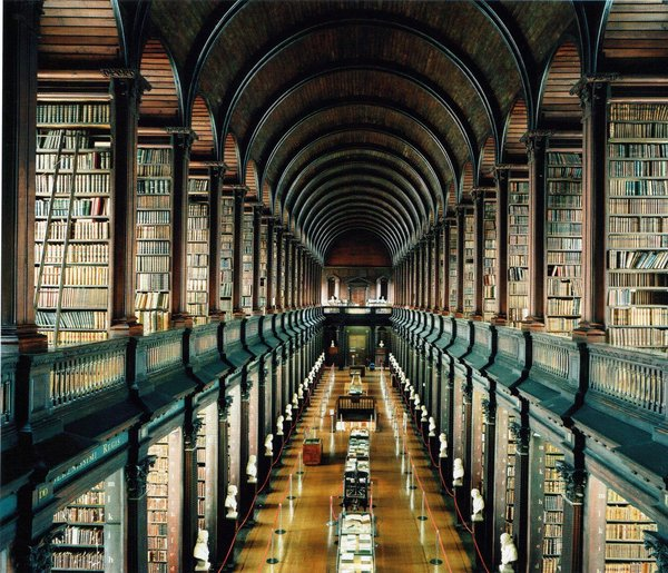 Bibliothèque du Trinity College, Dublin, Irlande