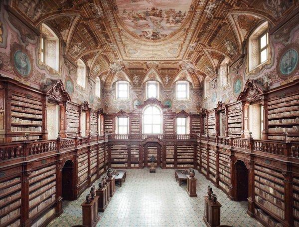 Bibliothèque Girolamini, Naples, Italie