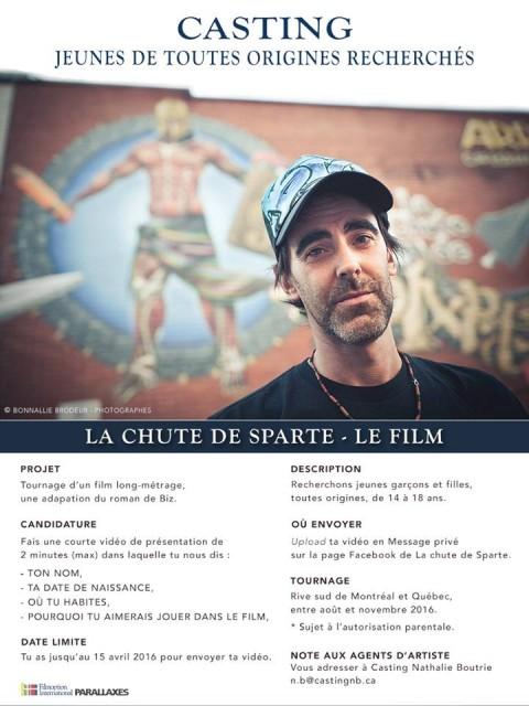 La chute de Sparte - Le film