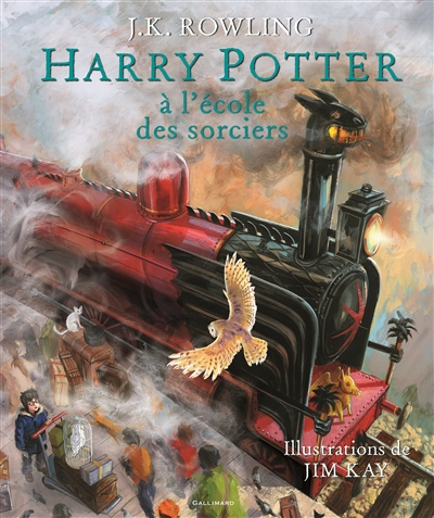 Harry Potter à l'école de sorciers, version illustrée
