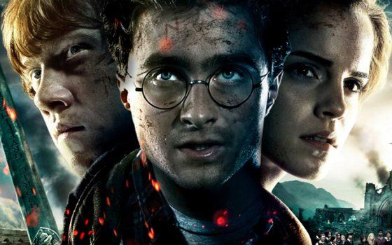 Daniel Radcliffe, Rupert Grint et Emma Watson